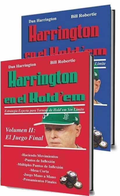 Harrington en el Holdem volumen 1 y 2